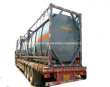 20FT Tank Container for Hydrogen Peroxide (H2O2 max 30%) Phosphoric Acid (H3PO4 10%-85%) Road Transportation 21cbm