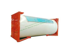 20FT ISO LPG Tank Container (DEM, Isobutane, cooking gas) Custermizing Mounted with Motor Pump Dispenser
