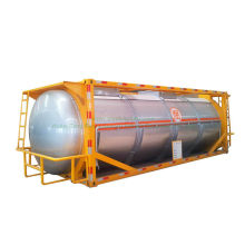 Swap Isotank Phosphorus Tank Container with Steam Heating for Un 1381, Phosphorus White or Yellow, Under Water or in Solution